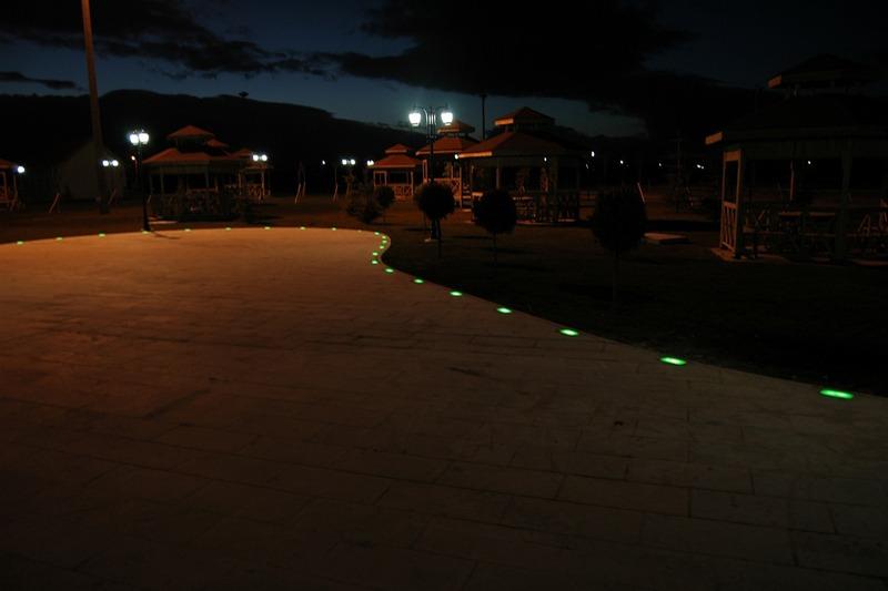 Işıklı Taş 12V Dc